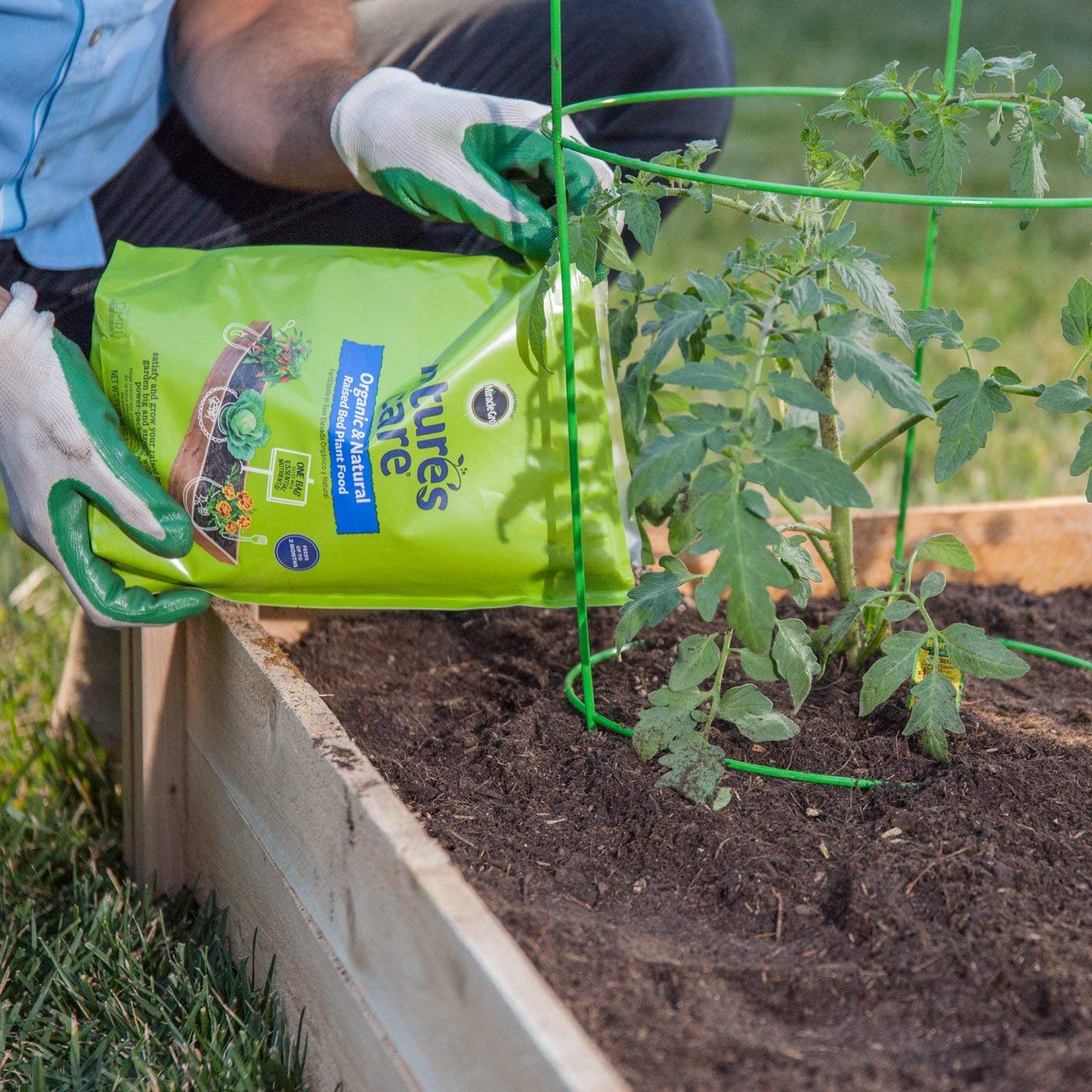 Amazon.com: Natures Care Organic & Natural Raised Bed Plant Food (Thrее Рack): Garden & Outdoor