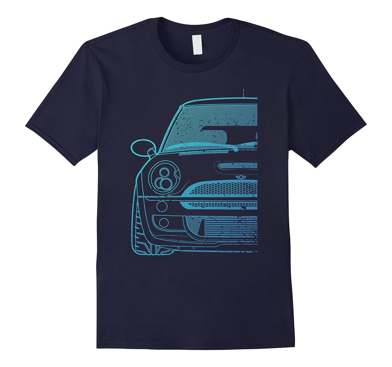 Blue R53 Series Boosted MiniHatch Tshirt-FL