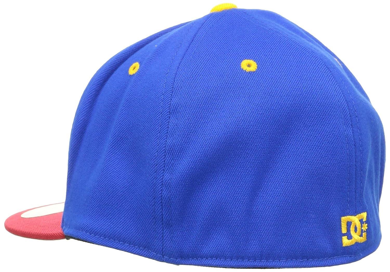 Dc Shoes - Cappello Flexfit con Visiera Piatta Ya Heard Surf The Web (S M 28ba724bf14e
