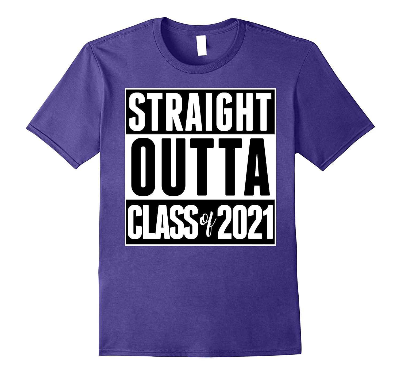Straight Outta Class of 2021 School Graduation College Kids-Vaci