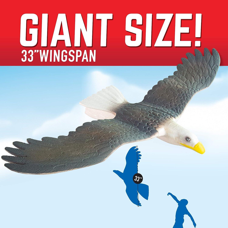Geospace GEOGLIDE Freedom Eagle Glider with 33 inch Wingspan