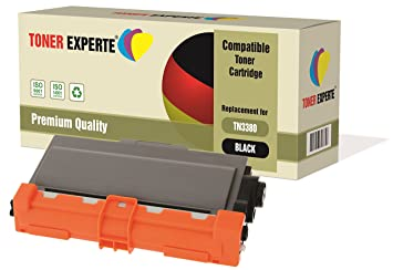 TN3380 Toner Cartridge for Brother HL-5440D HL-5450DN HL-5470DW HL-6180DW MFC-8510DN MFC-8520DN MFC-8950DW MFC-8950DWT DCP-8110DN DCP-8250DN TONER EXPERTE/® Compatible DR3300 Imaging Drum Unit