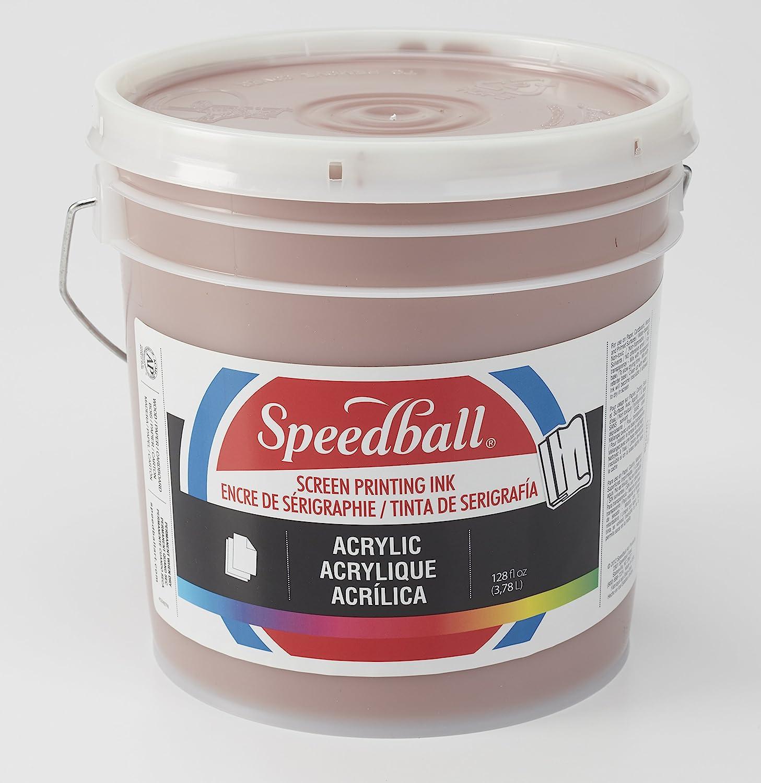 Speedball 004920 Acrylic Screen Printing Ink, 32 fl. oz, Poster Black