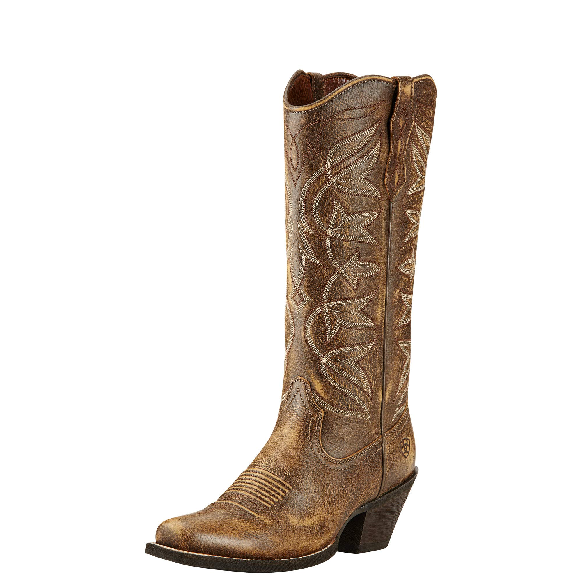 Ariat Women's Sheridan Western Cowboy Boot, Vintage Bomber, 6.5 B US by ARIAT