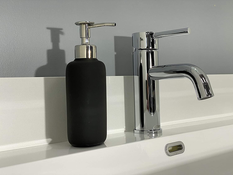 COMO Bathroom Faucet CM59001PC Single Handle Single Hole Polished Chrome