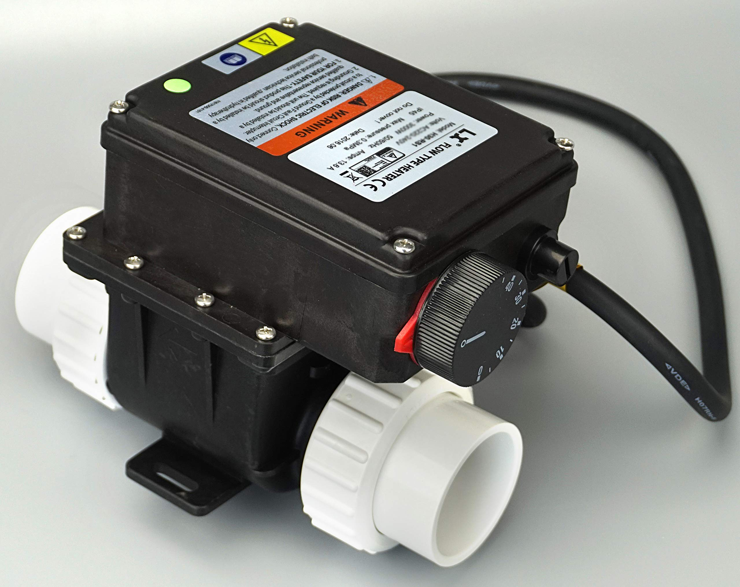 pool spa part hot tub LX H20-Rs1 Thermostat 110V 2kw with Adjustable Temperature Thermostat for Some hot tubs,Underground Small Pool &Bathtub by pool spa part
