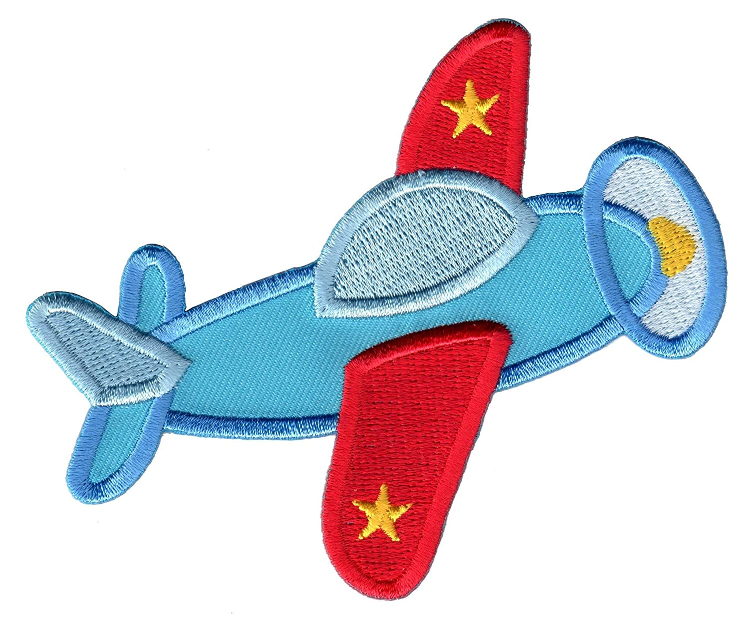 Iron On//Sew On PatchMommy Airplane Patch Plane Appliques for Kids Children