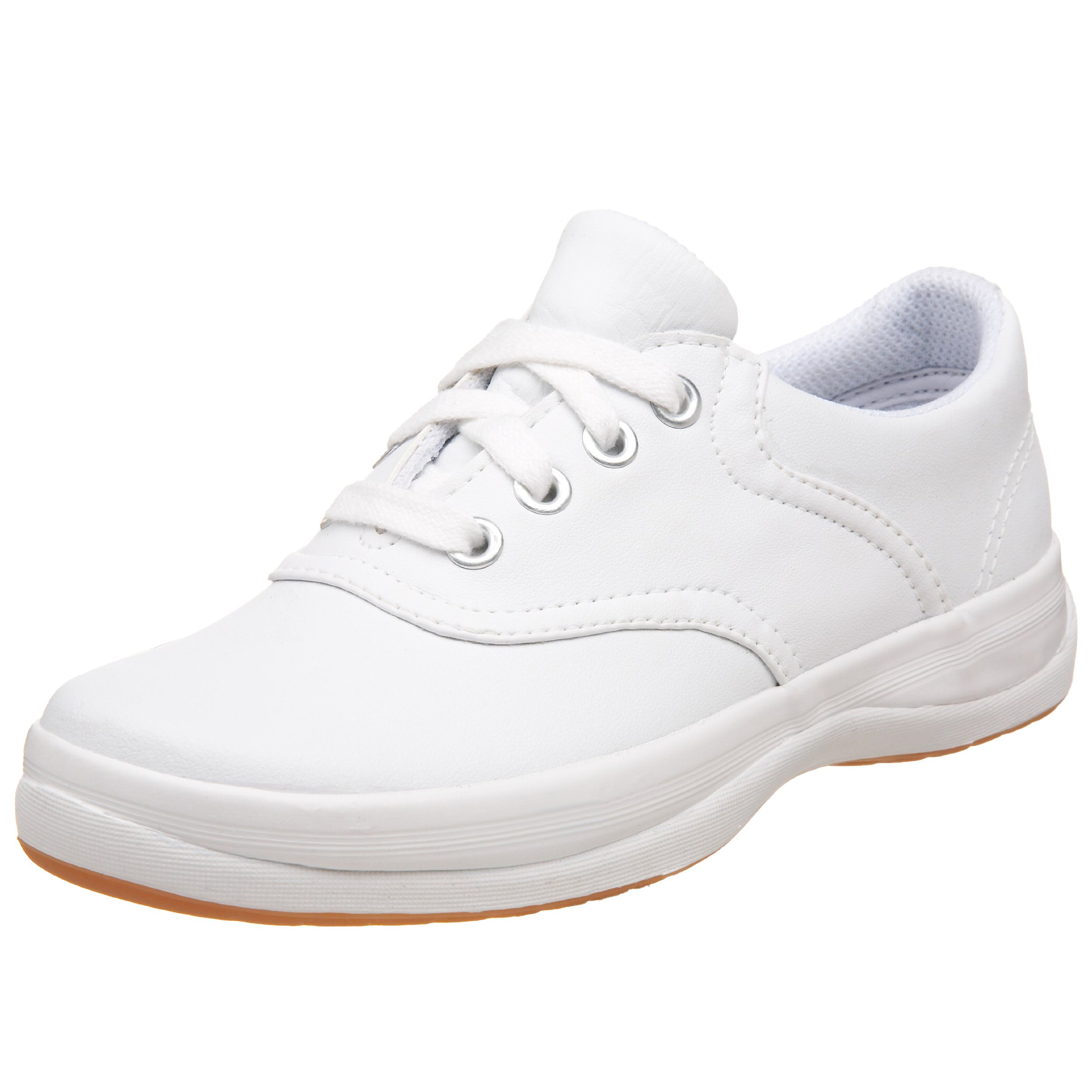 Keds School Days II Sneaker , White, 1 Little Kid M