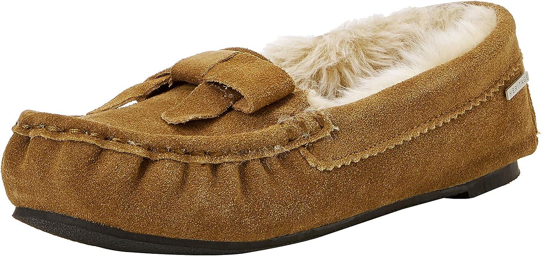 Isotoner Real Suede Moccasin Slippers, Zapatillas de Estar por casa para Mujer