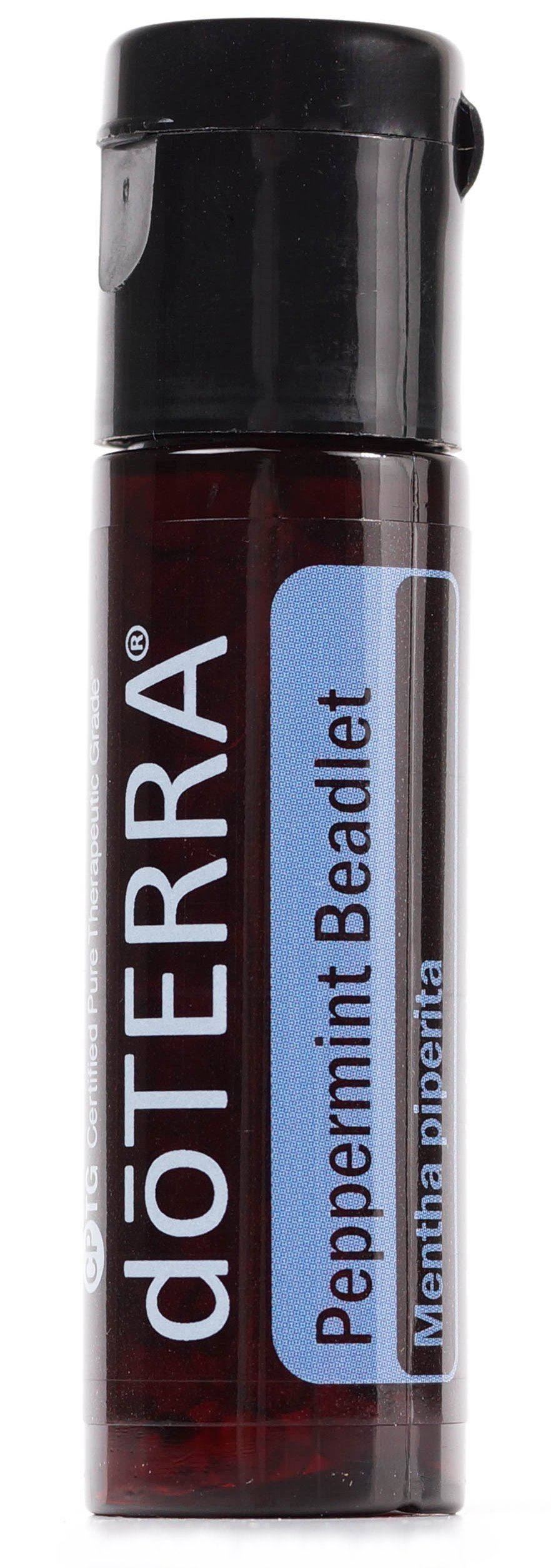 doTERRA - Peppermint Beadlet Essential Oil - Promotes Clear Breathing, Healthy Respiratory Function, and Digestive Health; for Diffusion, Internal, or Topical Use - 125 Beadlets by DoTerra