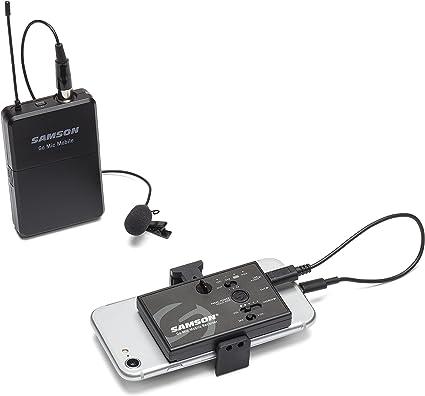 Samson Go Mic Mobile - Sistema inalámbrico de Mano Profesional ...