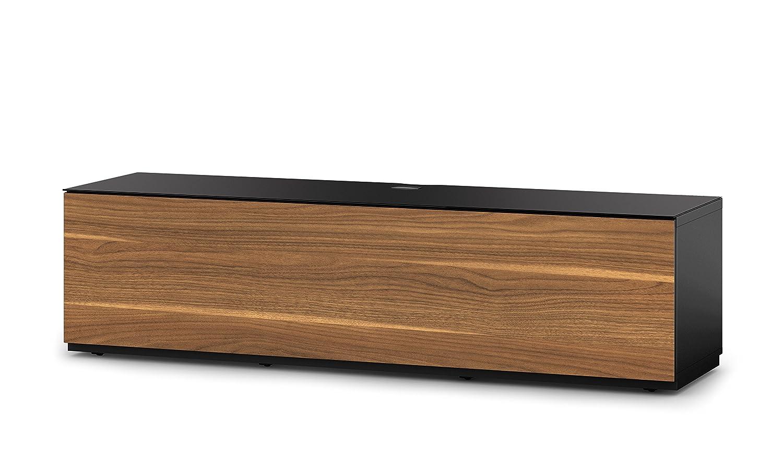 Sonorous Sta160fblkwntbw Meuble Tv Studio Bois 44 X 165 X 45 Cm  # Sonorous Meuble Tv