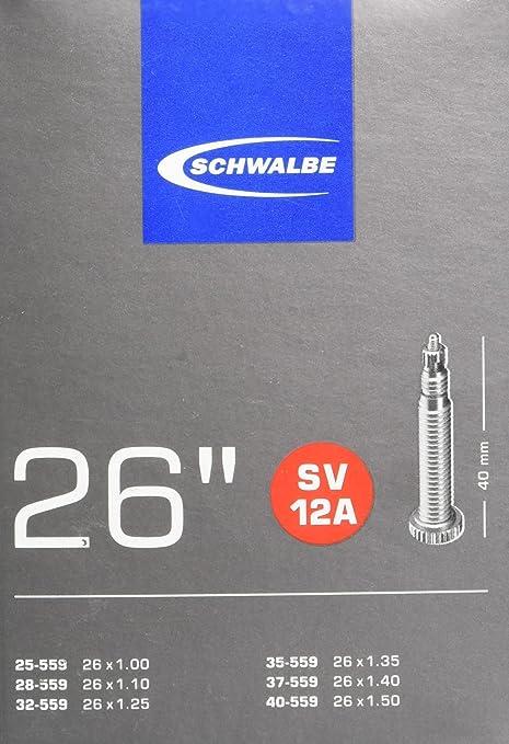 SCHWALBE SV16-27 x 1 1//4  BIKE INNER TUBE 40mm PRESTA VALVE QUANTITY RATE