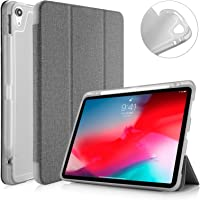 "Capa Apple iPad Pro 11"" WB Premium Antichoque Tecido Cinza Com Compartimento para Apple Pencil"