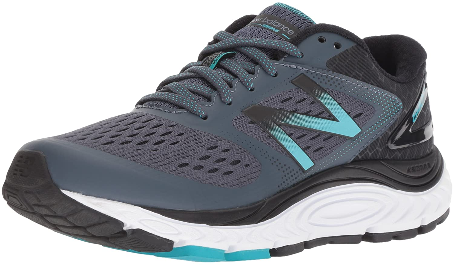New Balance Women's 840v4 Running Shoe B01MQLSMOM 11.5 D US|Dark Grey