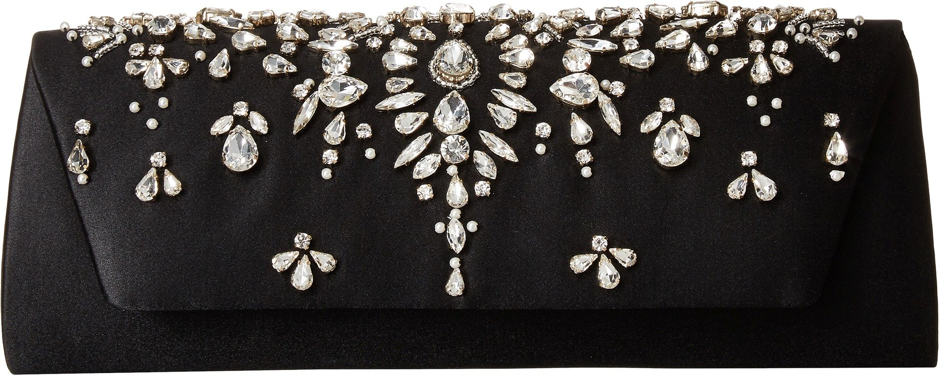 Badgley Mischka Women's Glory Clutch Black One Size