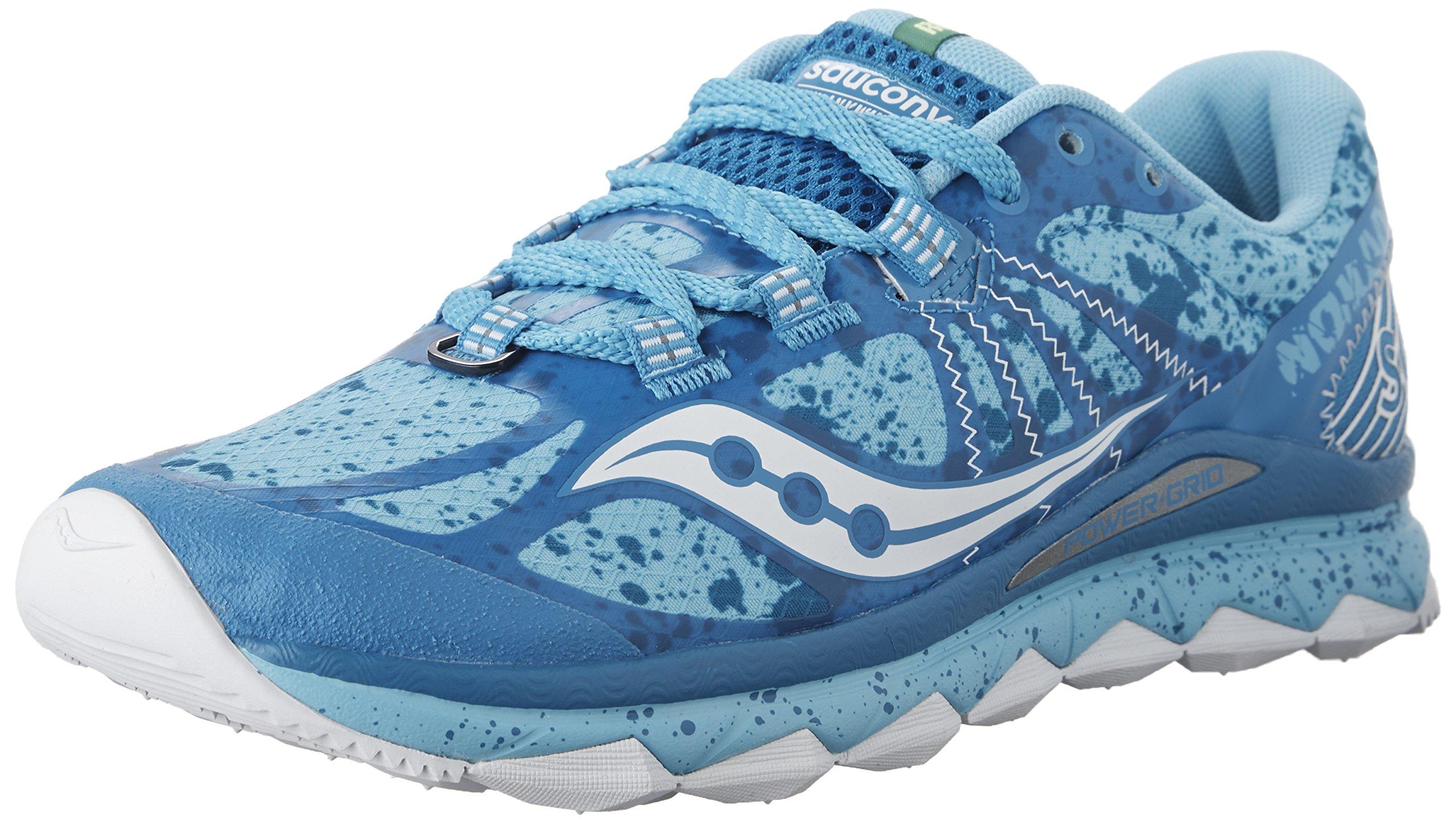Saucony Women's Nomad TR Running Shoe,Blue/White,US 8.5 M