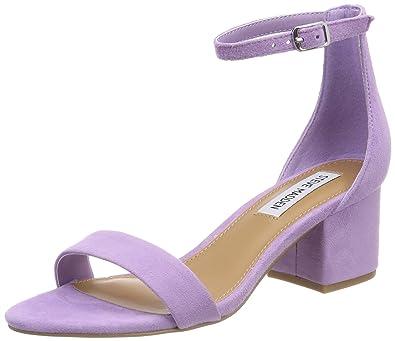 b37bbc71fdb Steve Madden Women s Irenee Ankle Strap Sandals Purple (Lavender) 7 ...
