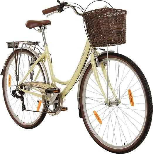 28 pulgadas Viking Piccadilly 7 Gang – Bicicleta de paseo para ...