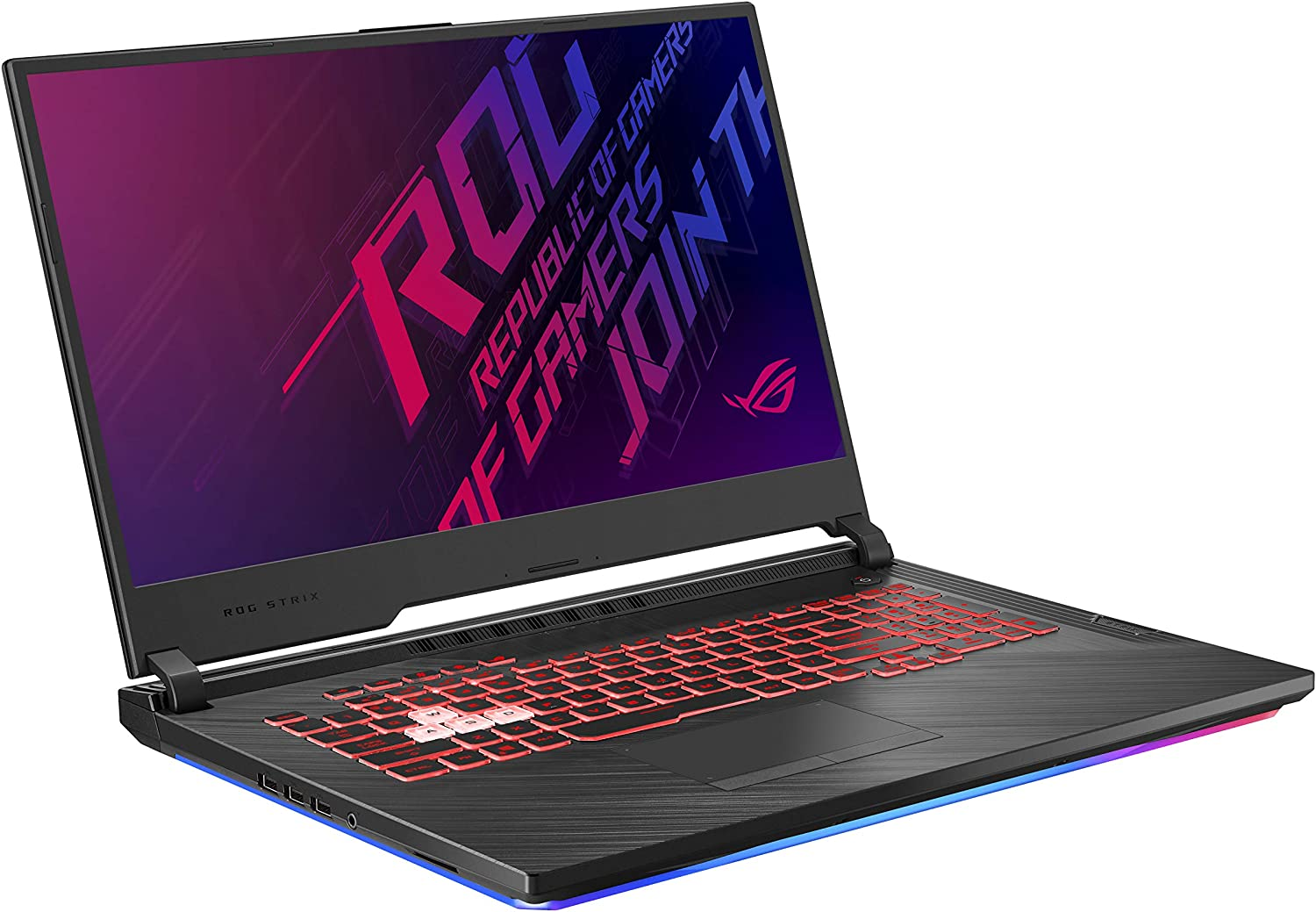 "Asus ROG Strix G (2019) Gaming Laptop, 17.3"" IPS Type FHD, NVIDIA GeForce GTX 1650, Intel Core i7-9750H, 16GB DDR4, 512GB PCIe Nvme SSD, RGB KB, Windows 10 Home, GL731GT-PH74"