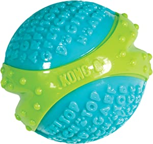 KONG - CoreStrength Ball - Long Lasting Dog Dental and Chew Toy - for Medium Dogs