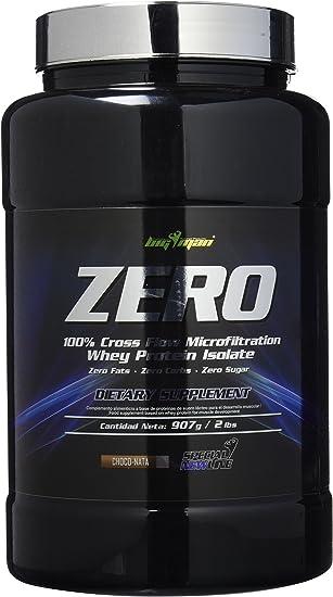 Big Man Nutrition Zero Whey Proteína Isolate, Chocolate - Nata - 910 gr