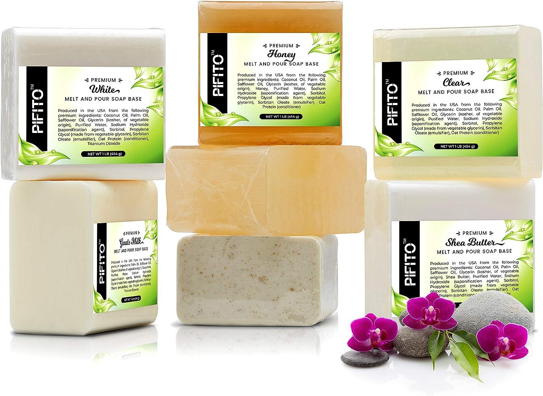2 lb Luxurious Soap Supplies Pifito Shea Butter Melt and Pour Soap Base