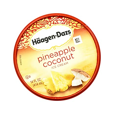 Haagen-Dazs, Chocolate Chip Cookie Dough Ice Cream, Pint (8 Count): Amazon.com: Grocery & Gourmet Food