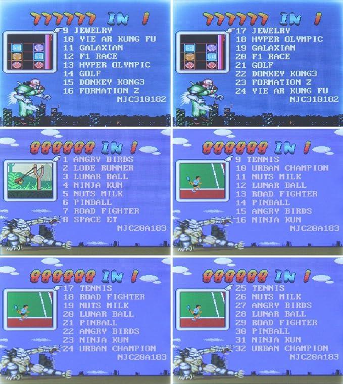 iPro 8 Bit Videojuegos Handheld Video Game Console con 100 ...
