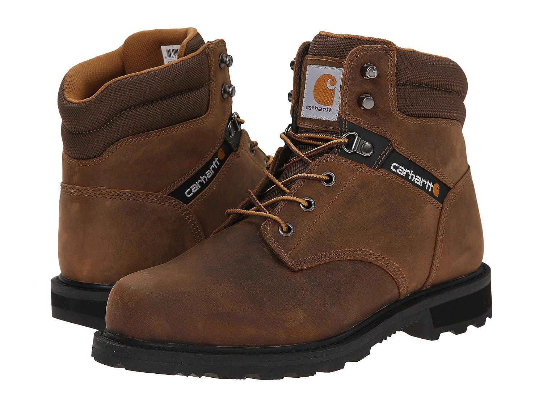 [カーハート] Carhartt メンズ Traditional Welt 6 Work Boot アンクルブーツ [並行輸入品] B075R7XMZP 29.0 cm D|Crazy Horse Brown Leather Crazy Horse Brown Leather 29.0 cm D