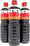 〔セット商品〕ヤマコノのデラックス醤油 調味の素(ペットボトル) 1L 3本セット