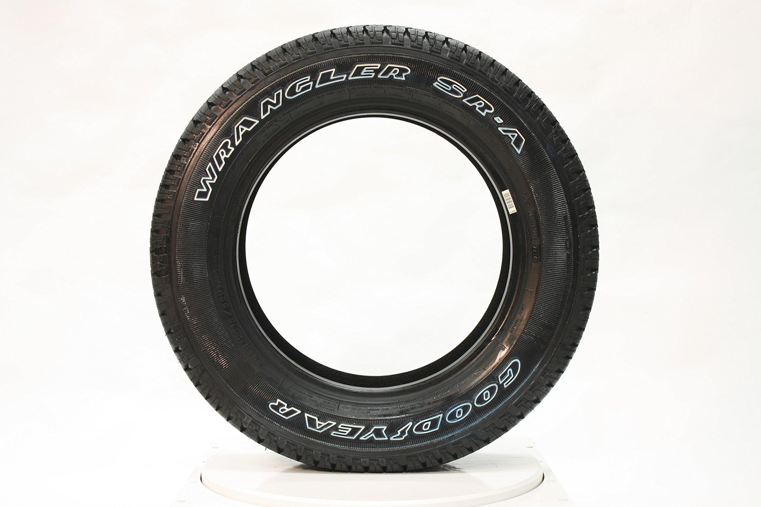 Goodyear Wrangler SR-A Radial Tire – 265/70R18 114S