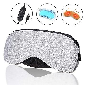Amazon.com: Máscara portátil de vapor frío y USB para dormir ...
