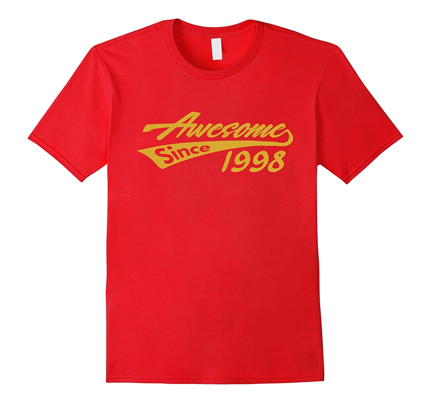 Awesome Since 1998 T-shirt Cool Luxury Fashion Top Tee-Art