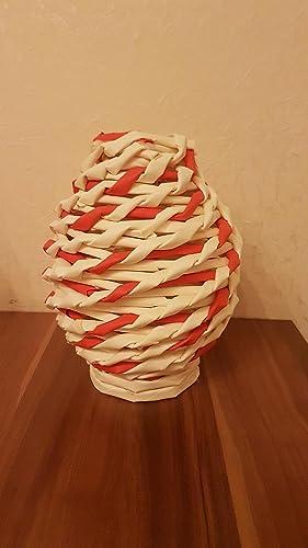 Kleine Vase Tischdeko Amazon De Handmade