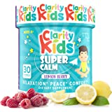 Clarity Kids Super Calm (30 Chewables), A Magnesium Chewable for Comfort, Calm Kids Magnesium for Relaxation, A Natural…
