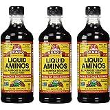 Bragg Liquid Aminos 16.0 FO(Pack of 3)
