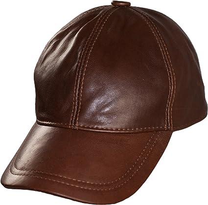 casquette homme en cuir