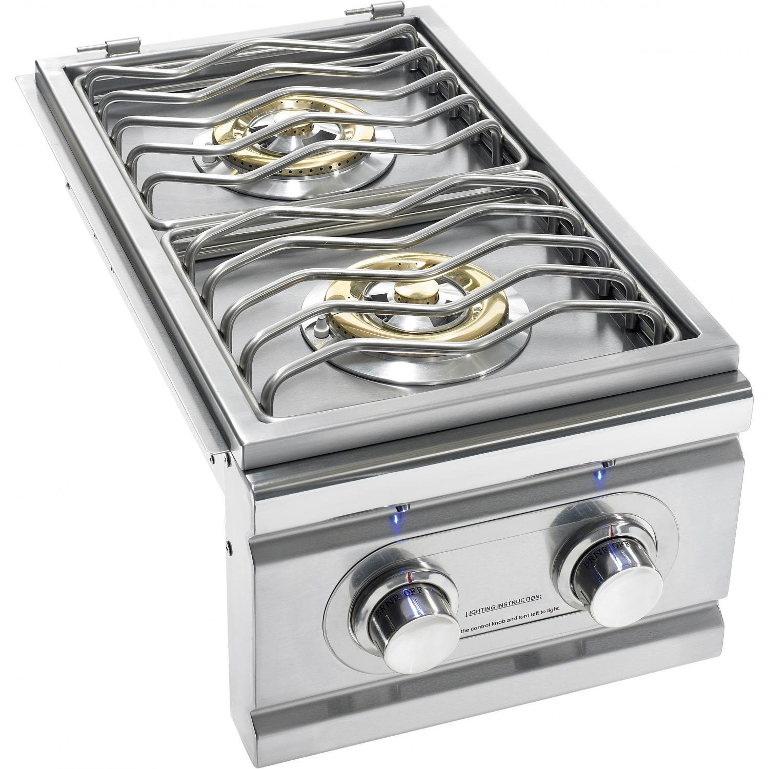 Summerset Trl Built-in Natural Gas Double Side Burner - Trlsb-2-ng