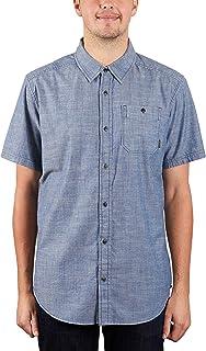 Burton Glade Short Sleeve Woven Shirt Light Chambray