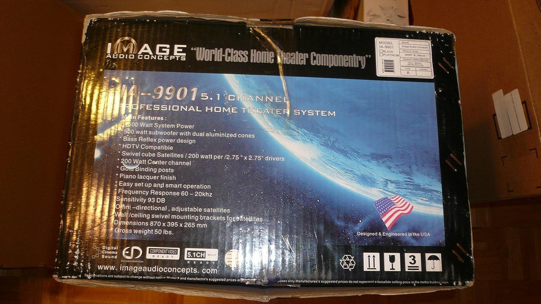 Amazon.com: Image Audio Concepts Ia-9901 5.1 Professional Home ...