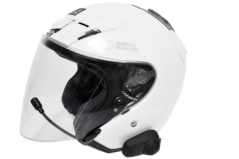 Sena SMH5-01 Low-Profile Motorcycle and Scooter Bluetooth Headset Single Intercom