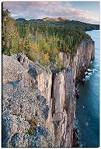 Hitecera Minnesotas North Shore on Lake Superior Wall Art for Bedroom,105348 Large Wall Art,12 x18in