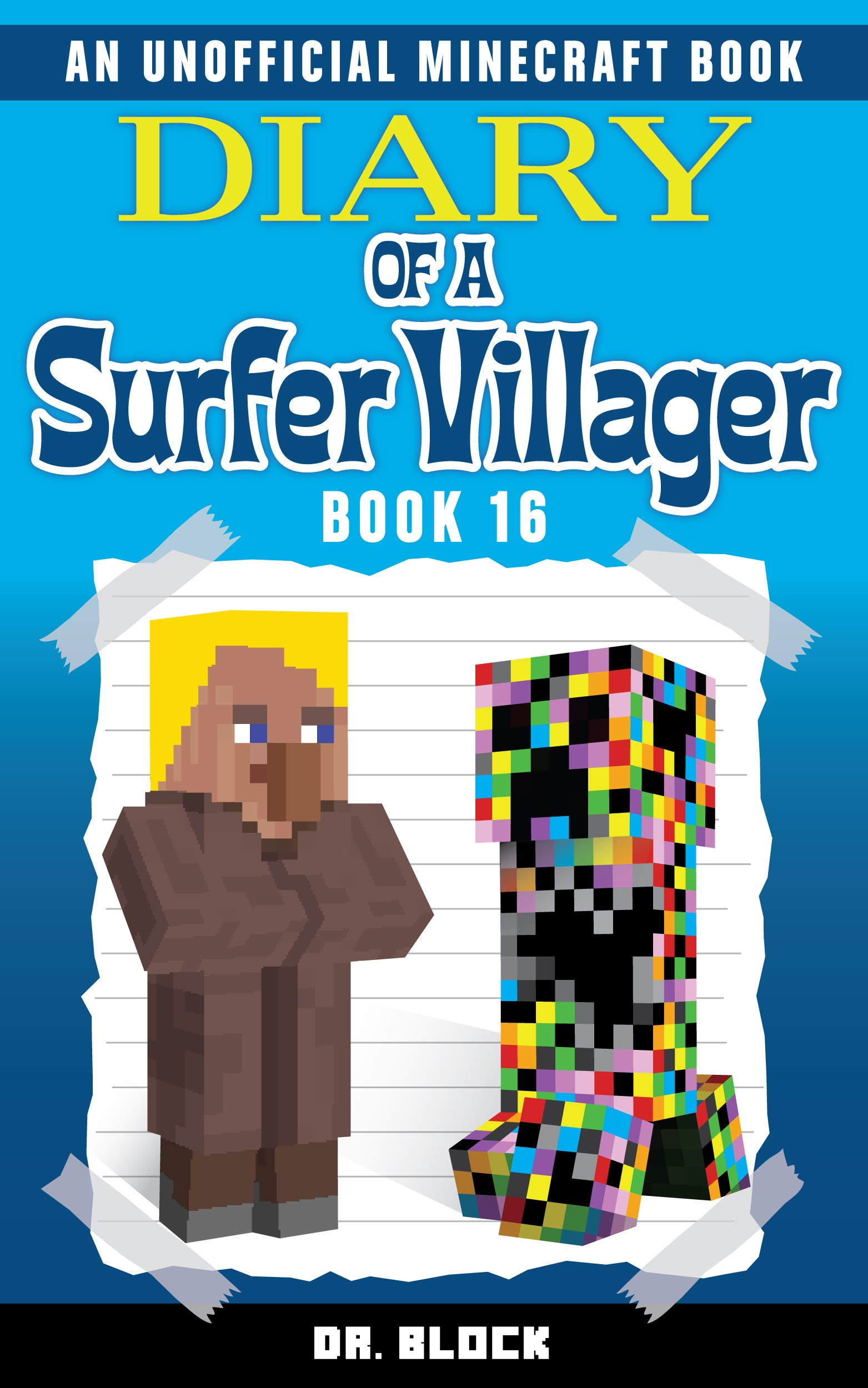 Diary Of A Surfer Villager  Book 16   An Unofficial Minecraft Book For Kids   English Edition