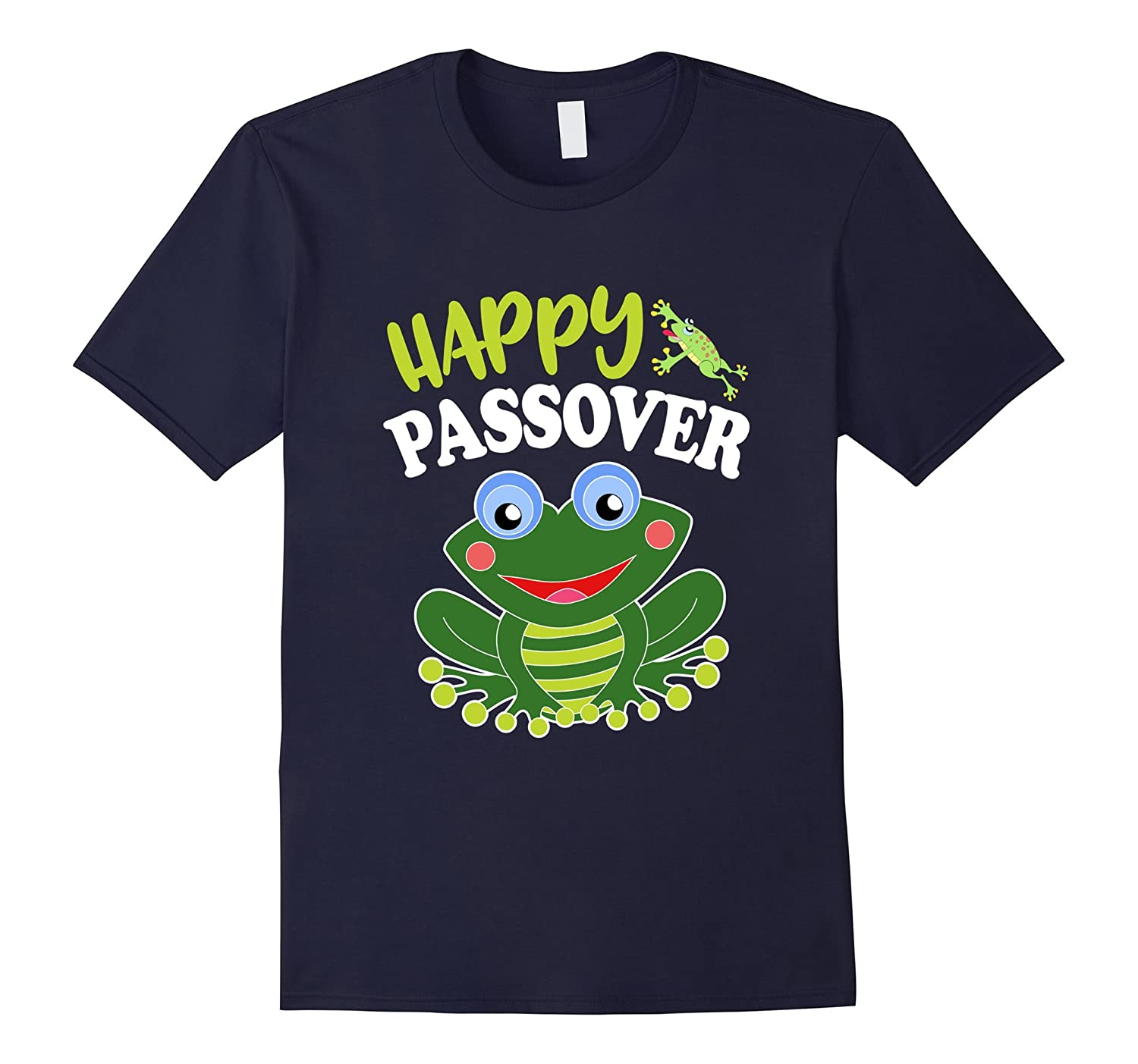 Happy Passover Flip Frogs Jewish Holiday Gifts T Shirt-Vaci