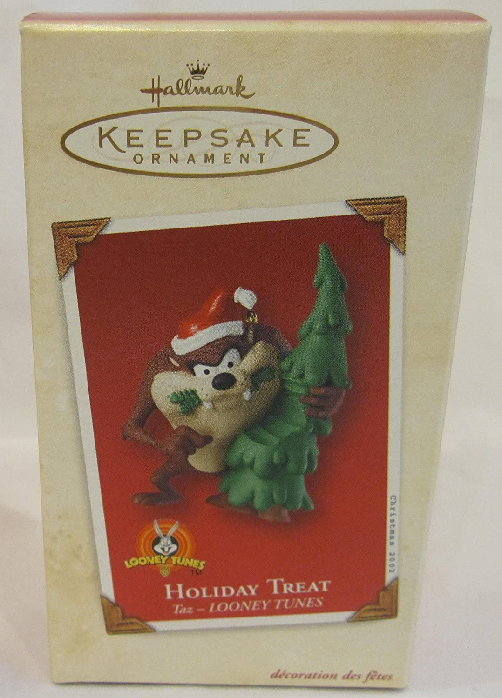 2002 Hallmark Keepsake Ornament Holiday Treat TAZ Looney Tunes