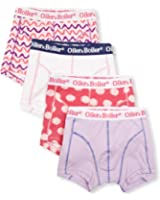 Oiler + Boiler Nantucket 4 Pack Without Fly Men's Boxers