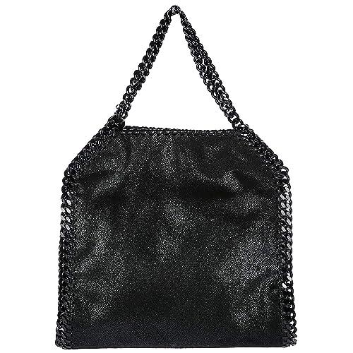 Stella Mccartney women Falabella Mini handbag nero  Amazon.co.uk  Shoes    Bags f225339ea5d1b