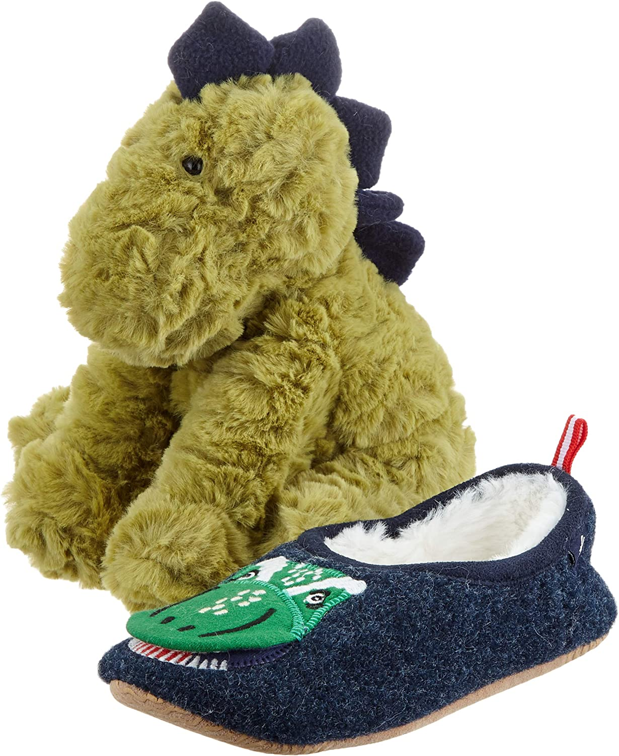 Joules Slipper and Soft Toy Gift Set Chaussons gar/çon