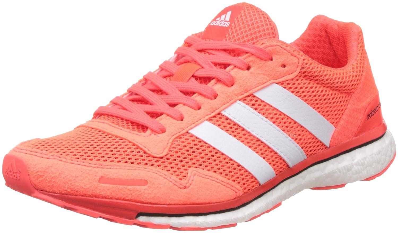 buy online f905f 737c8 adidas Adizero Adios 3, Chaussures de Running Compétition Femme, Rouge ( Solar Red FTWR White Core Black), 42 2 3 EU  Amazon.fr  Chaussures et Sacs